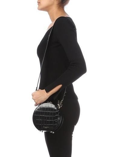 Aspinal Of London Messenger / Askılı Çanta Siyah